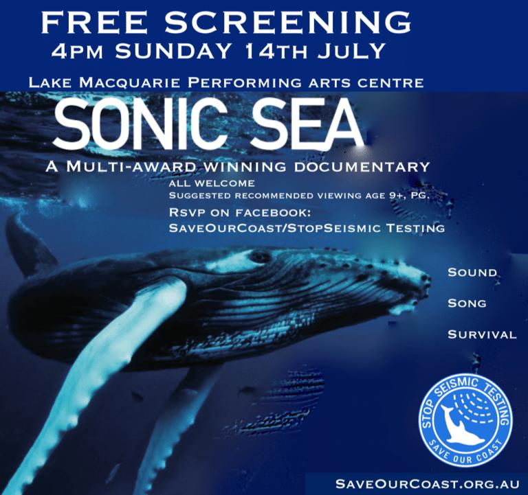 sonic sea free screening