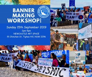 banner making workshop Sep 15 2019