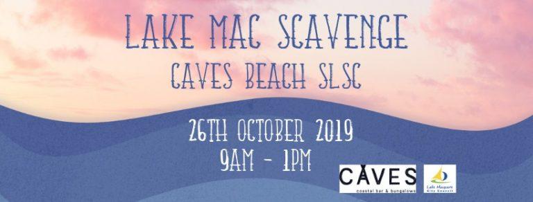 lake mac scavenge caves beach slsc